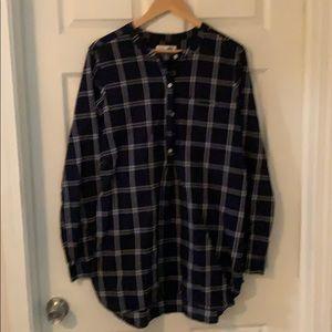 Old Navy XL Tall navy cotton tunic